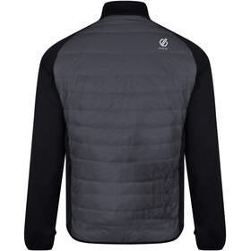 Dare 2b Coordinate Chaqueta de Lana Hombre, black/ebony grey/aluminium grey